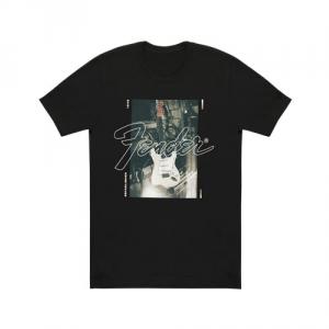 Fender Stratocaster Menís T-Shirt, Black, S koszulka