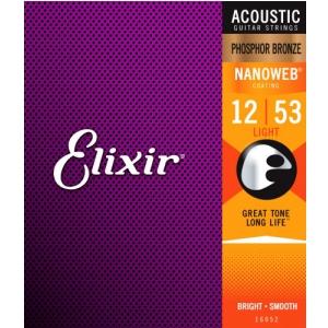 Elixir 16052 Phosphor Bronze Light NW struny do gitary  (...)
