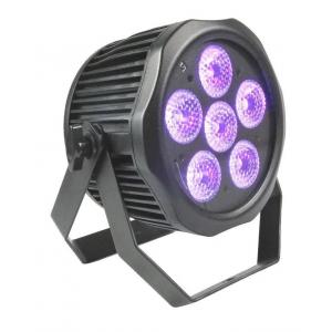 Fractal PAR LED 6 x 12 W 6 in 1 LED IP65 BATT - reflektor  (...)