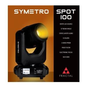 Fractal Symetro Spot 100 - głowica ruchoma typu spot B-Stock