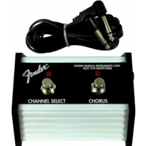 Fender 2-Button Footswitch Channel / Chorus On/Off with  (...)