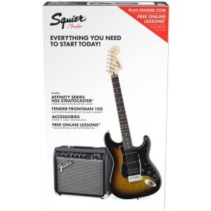 Fender Affinity Series Stratocaster HSS Pack, Laurel  (...)