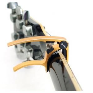 Jeremi AE01 kapodaster do gitary akustycznej, złoty