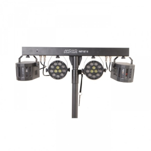 Moxo Party Set 1.0 RGBW - zestaw 2 x PAR LED + 2 x Derby LED