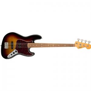 Fender 60s Jazz Bass Lacquer Pau Ferro Fingerboard 3-Color Sunburst gitara basowa