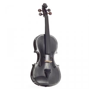 Stentor 1401BLA skrzypce 4/4 Harlequin, zestaw, czarny
