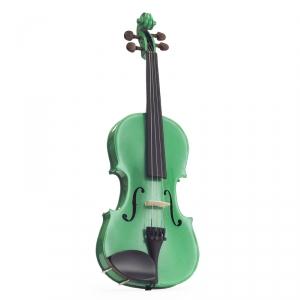 Stentor 1401SGA skrzypce 4/4 Harlequin, zestaw, zielone