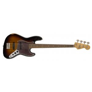 Fender Road Worn 60s Jazz Bass, Pau Ferro Fingerboard, 3-Color Sunburst gitara basowa