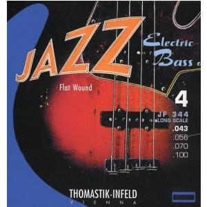Thomastik JF32056 (682702) struna do gitary basowej Jazz Bass Seria Nickel Flat Wound Roundcore .056
