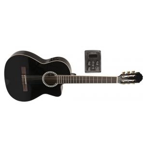 GEWA (PS510198) Gitara koncertowa VGS Basic Electro E-klasyczna, czarna