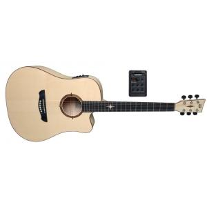 VGS (VG500910) Gitary elektroakustyczne P-10 CE Polaris Natural Satin Open Pore
