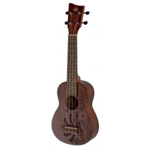 VGS (VG512404) Ukulele sopranowe Manoa Kaleo Tattoo KT-SO-NIPPON Soprano