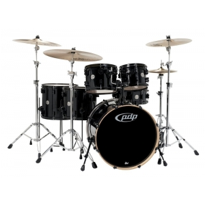 PDP by DW Drum set Concept Maple, Black Sparkle zestaw perkusyjny