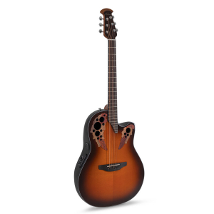 Ovation CE44-1 Celebrity Elite Mid Cutaway Sunburst Gitara elektroakustyczna