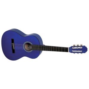 GEWA (PS510145) Gitara koncertowa VGS Basic 3/4 transparentny niebieski