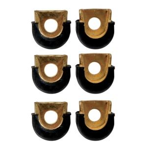 Latin Percussion Shell Protectors Conga 3/8″ otwór, chrom  (...)
