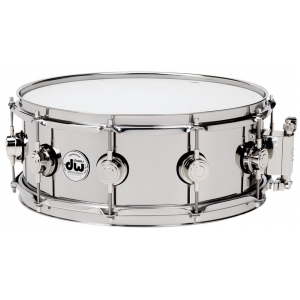 Drum Workshop Snaredrum Stainless Steel 13x6,5