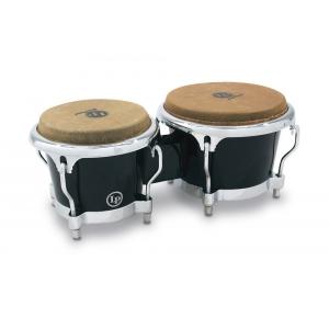 Latin Percussion Bongo Fiberglass Black