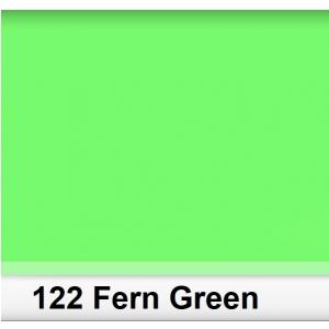 Lee 122 Fern Green filtr barwny folia - arkusz 25 x 25 cm