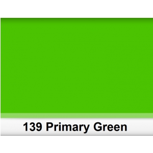 Lee 139 Primary Green filtr barwny folia - arkusz 25 x 25 cm