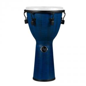 Latin Percussion Djembe World Beat FX Mechanically Tuned Blue