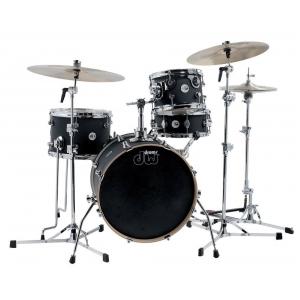 Drum Workshop Zestaw bębnów Black Satin