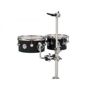 Drum Workshop Concert Toms Design Black Satin
