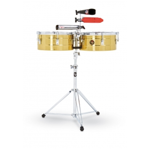 Latin Percussion Timbalesy Tito Puente Solid Brass 13/14