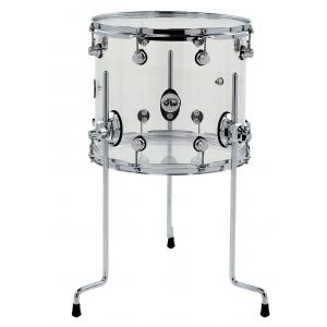 Drum Workshop Floor Tom Akryl Clear