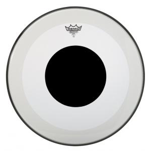 Remo Naciągi Powerstroke 3 Przezroczysty Black Dot 26 P3-1326-10