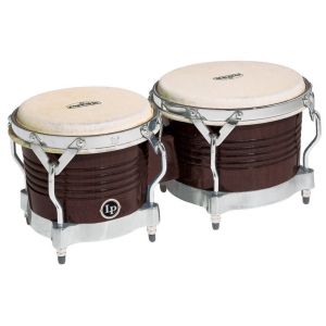 Latin Percussion Bongo Matador Wood Dark Wood