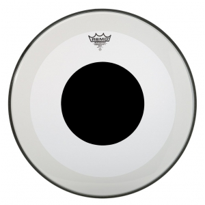 Remo Naciągi Powerstroke 3 Przezroczysty Black Dot 24 P3-1324-10