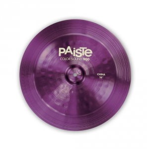 Paiste Talerz China Seria 900 Color Sound Purple 16