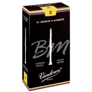 Vandoren Stroik Klarnet w stroju Bb Black Master 3