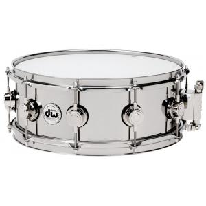 Drum Workshop Snaredrum Stainless Steel 14x4,5