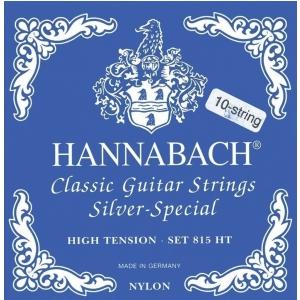 Hannabach (652596) 815 08ZHT  struny do gitary klasycznej (high) - Komplet - 8 strun