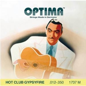 Optima (667527) struny do gitary akustycznej Hot Club Gypsyfire, posrebrzane - Komplet