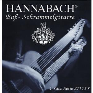 Hannabach (659095) 27115  struna do gitary basowej (typu Schrammel) - G15 posrebrzana, owinięta