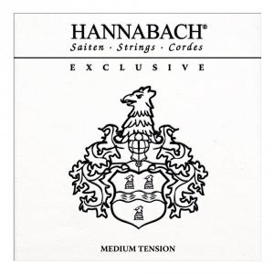 Hannabach (652737) Exclusive struny do gitary klasycznej (medium) - Komplet