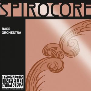 Thomastik (644234) struny do kontrabasu Spirocore Spiralny rdzeń - D średnia 3/4 - 3885,3
