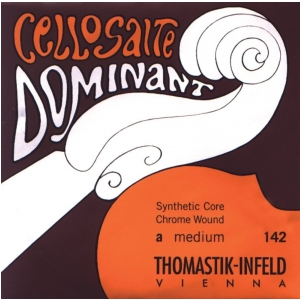 Thomastik (641019) Dominant struny do wiolonczeli - Set 4/4 średni - 147