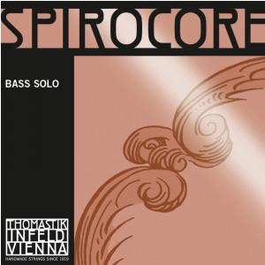 Thomastik (644275) struny do kontrabasu Spirocore Spiralny rdzeń - Cis/C# 4/4 - S40S