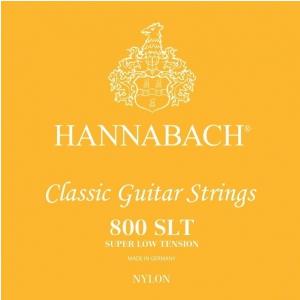 Hannabach (652359) E800 SLT struny do gitary klasycznej (super low) - Komplet 3 strun diskant