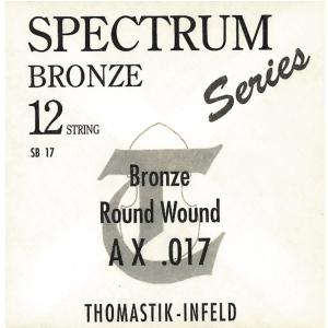 Thomastik (669211) struna do gitary akustycznej Spectrum Single - .017 fw
