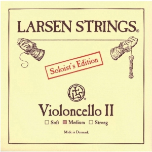 Larsen (639425) struna do wiolonczeli - D Solo - Strong 4/4
