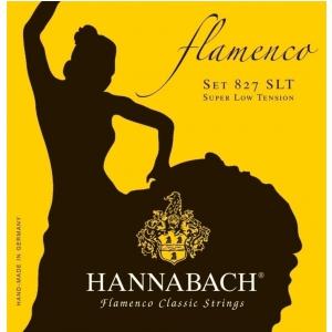 Hannabach (652958) 827SLT struny do gitara klasycznej (super light) - Komplet 3 strun basowych