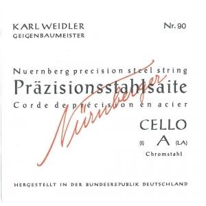 Nurnberger (639740) Prazisionss struny do wiolonczeli - Set 4/4