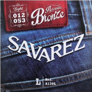 Savarez (668582) struny do gitary akustycznej Acoustic Bronze - A130CL - Cst.-Light .011-.052