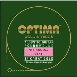 Optima (667327) Bergfee struny do gitary akustycznej - Komplet