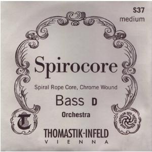 Thomastik (644284) struny do kontrabasu Spirocore Spiralny rdzeń - Fis/F# 3/4 - 3886,4